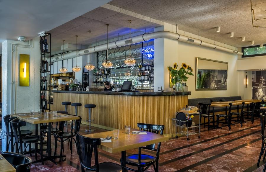 Projekt Restauracji Cafe Mozaika W Warszawie Ul Puławska